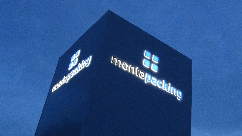 Montapacking Gevelbranding