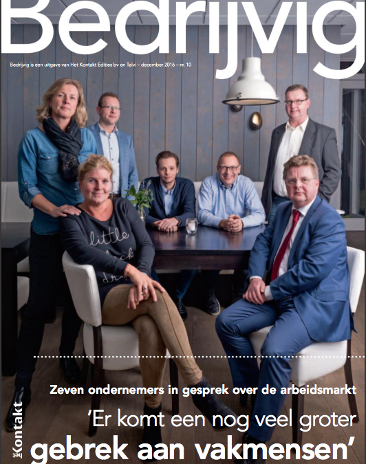 LBS in business magazine Bedrijvig!