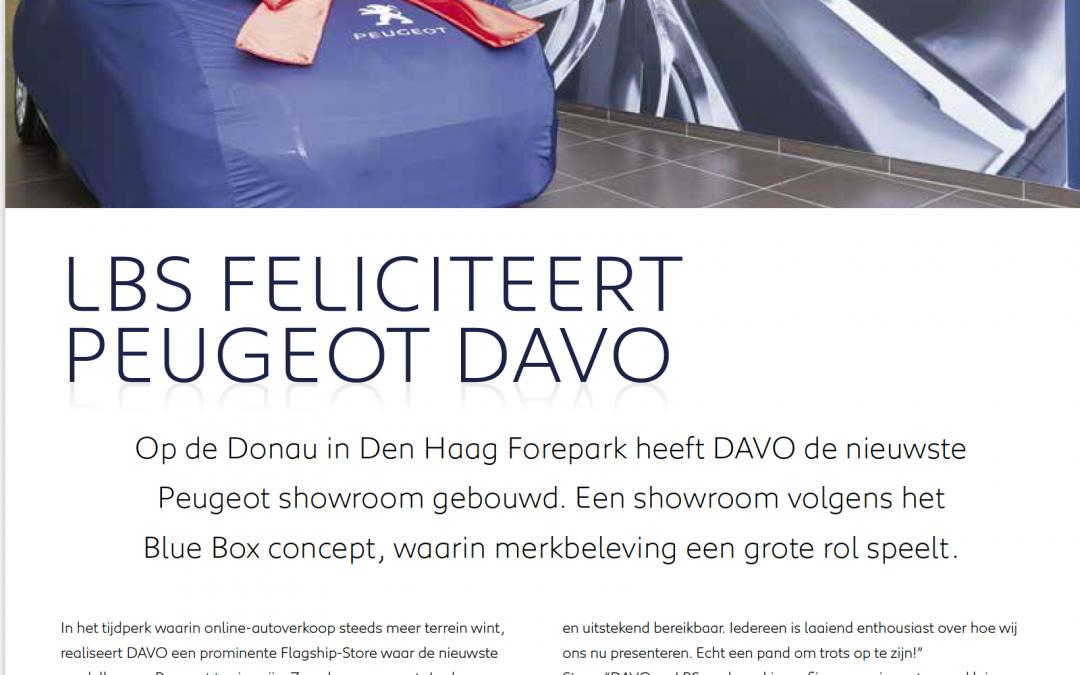 Peugeot Blue Box DAVO