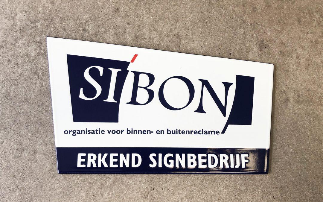 Erkend keurmerk Signbedrijf SI'BON
