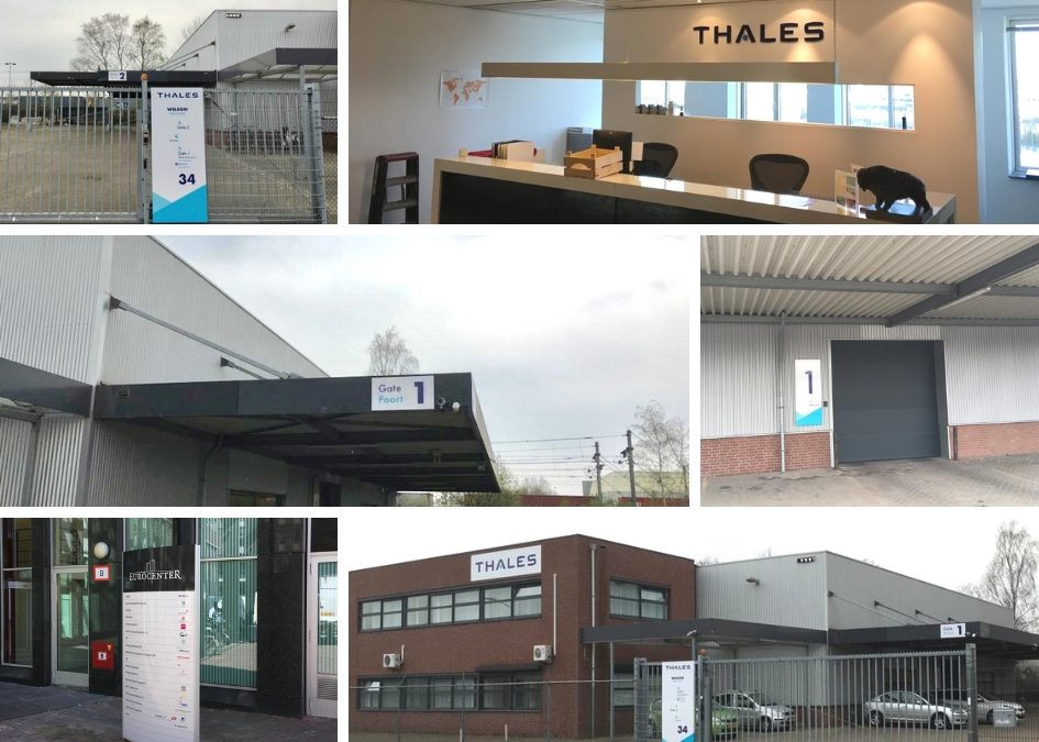 Thales restyling